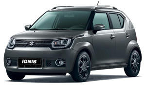 Rent a Car in Andros SUZUKI IGNIS 4X4